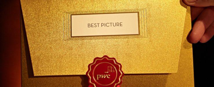 """Goldener Umschlag für die """"weißen"""" Oscars"""