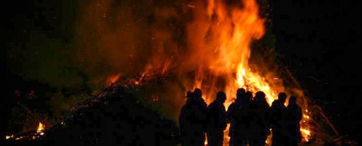 Osterfeuer soll vor Brand schützen