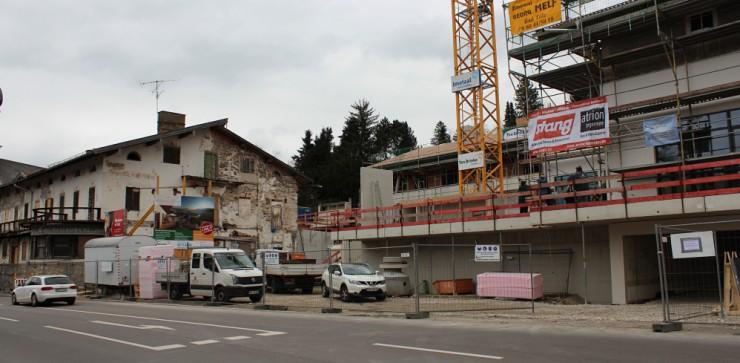 Gmund Maximilian April 2016 Baustelle