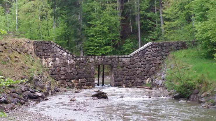 So sieht die Wildholzverbauung am Söllbach aus. Etwas Ähnliches ist auch für den Zeiselbach geplant.