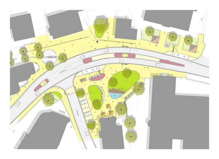 So sieht die Planung für den neuen Lindenplatz aus.