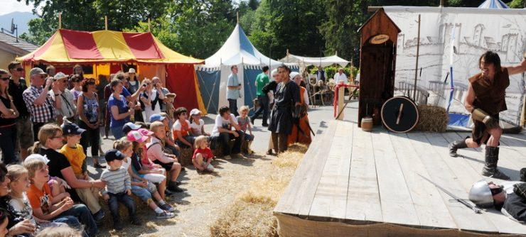 Auch in diesem Jahr findet wieder ein großes Mittelalterfest statt - diesmal sogar an der Point