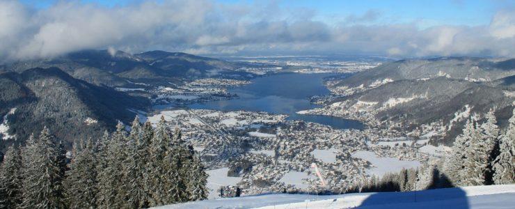 Endlich Schnee im Tal