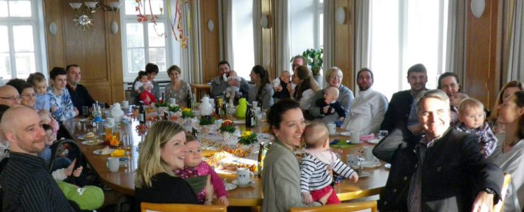 Baby-Party im Rathaus