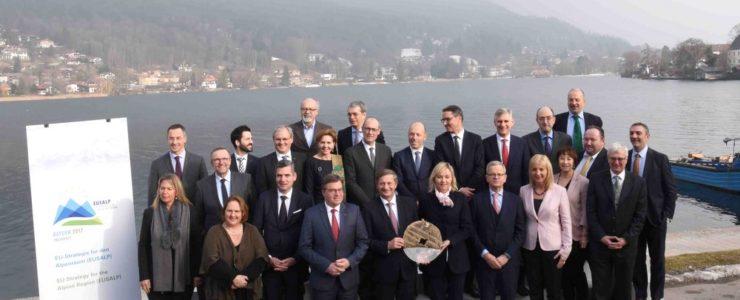 Alpenkonferenz in der Überfahrt