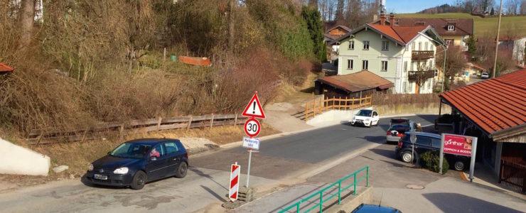 Erneute Vollsperrung in Gmund