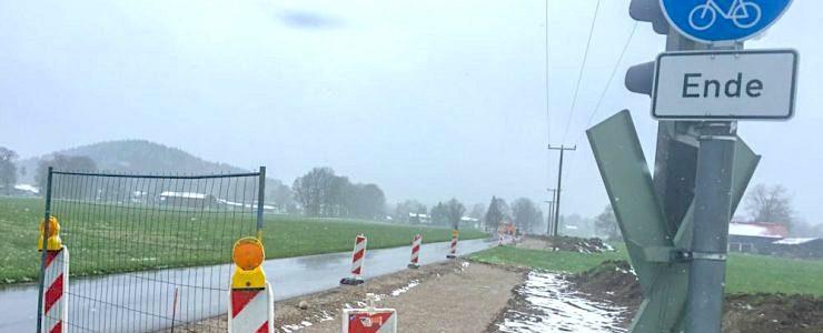 Dürnbacher Straße wieder frei