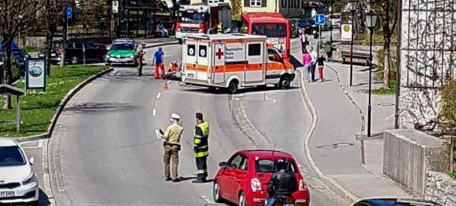 Schwerer Auffahrunfall in Tegernsee