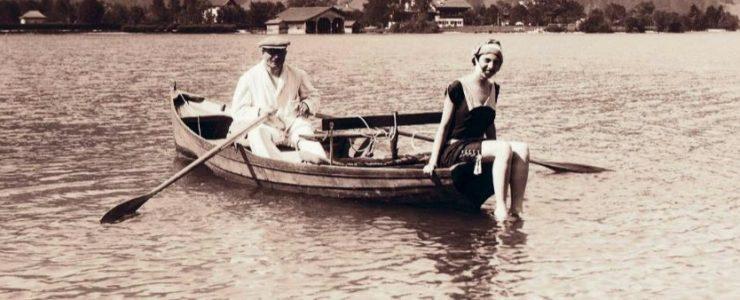 Der Tegernsee vor 100 Jahren
