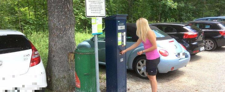 Wandern, parken – modern zahlen