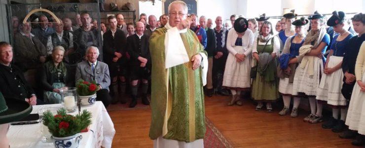 Rottacher feiern 125 Jahre Wallbergkreuz