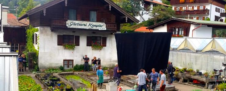 Dreharbeiten zu Kinofilm in Bad Wiessee