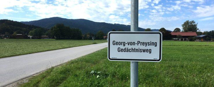 Der Georg-von-Preysing-Gedächtnisweg