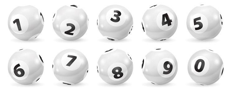 Lottoziehung mit hoher Gewinnausschüttung