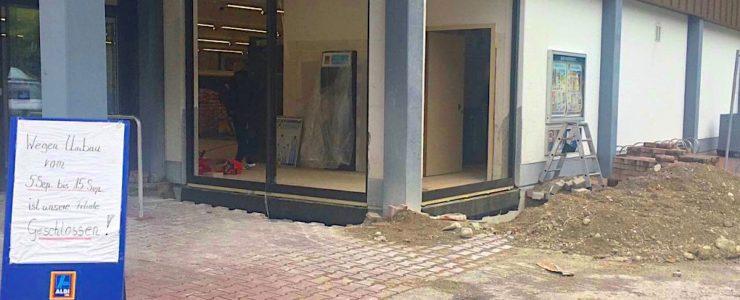 Aldi in Weissach geschlossen
