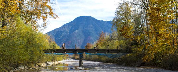 Sanierung der Ringseebrücke in Rottach