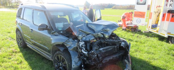 Waakirchnerin bei Unfall verletzt