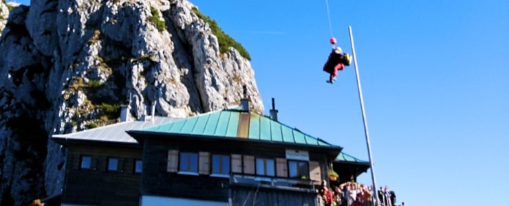 Mann stürzt bei Tegernseer Hütte ab