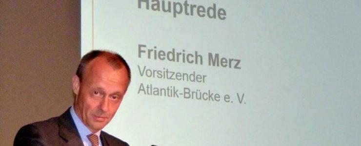 Friedrich Merz warnt vor Trump und Brexit