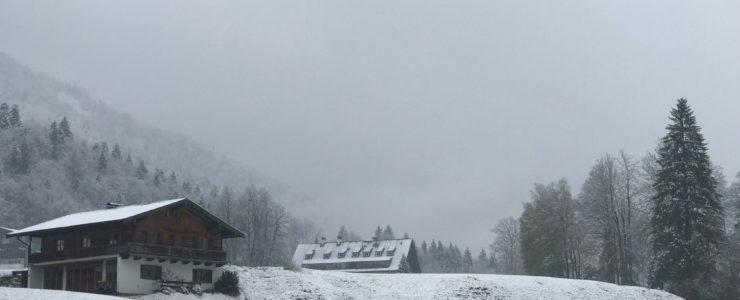 Wia sche, Schnee!