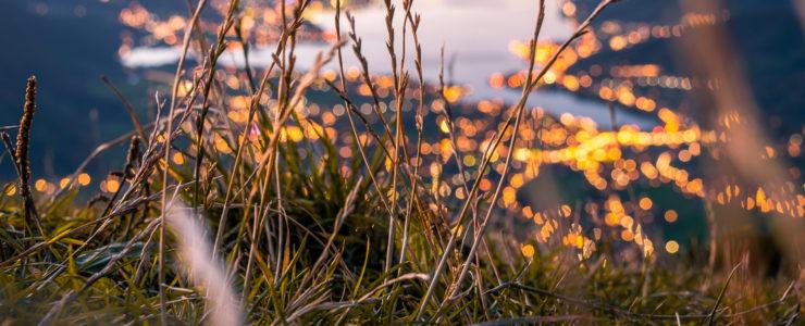 Herbstliche Stille regiert das Tal