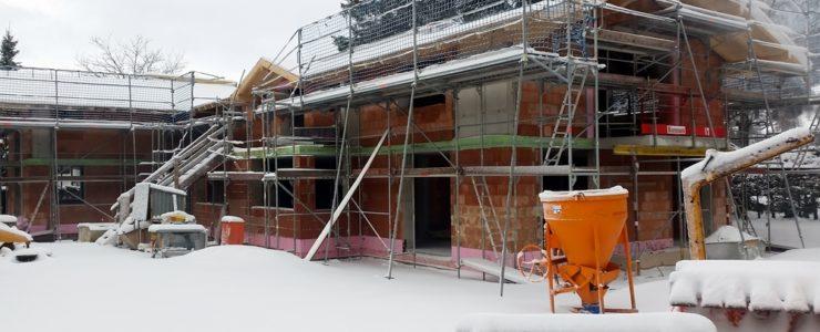 Baustopp für Peter Hubert