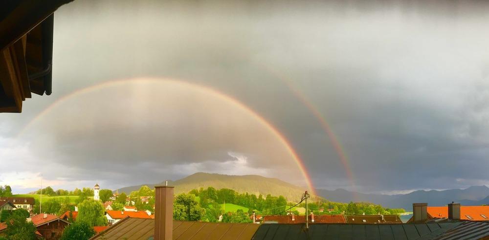 Wer den regenbogen will muss den regen in kauf nehmen