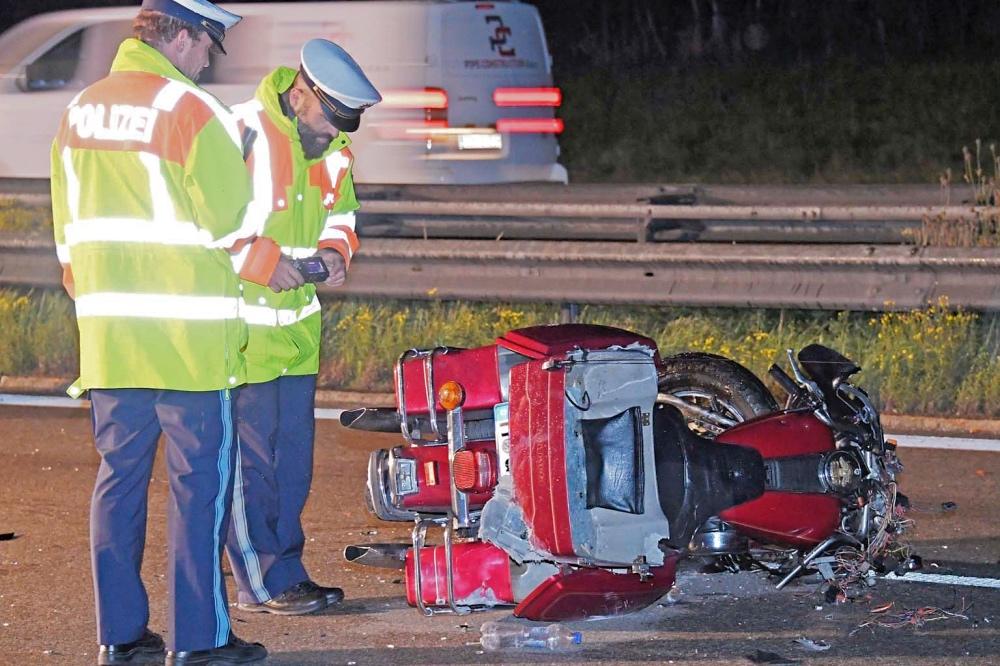 Unfall A8 Gestern Abend